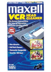 VHS Tape Cleaners