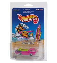 Packaged Race Car Blister Case