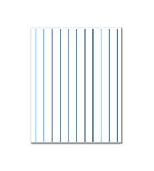 Pinstripe Matboard- no window. <i>See drop-down to choose pinstripe color.</i>