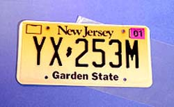 License Plate Sleeve